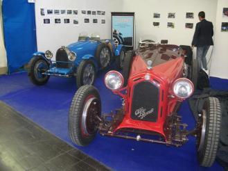 2 Alfa Romeo 6C 2300 & Bugatti Type 35