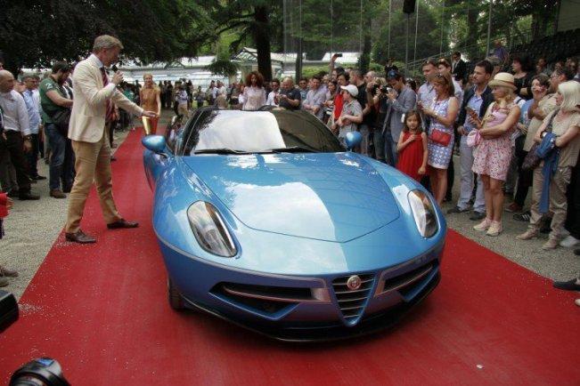 Castigator Categoria Concept car - Alfa Romeo Disco Volante