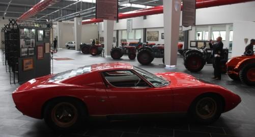 Muzeul Lamborghini - parter (2)