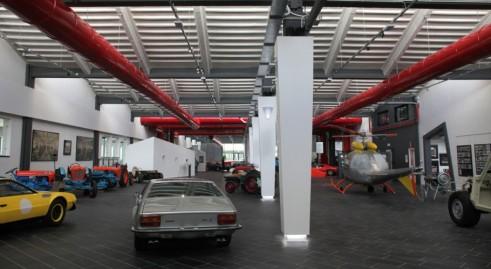 Muzeul Lamborghini - parter
