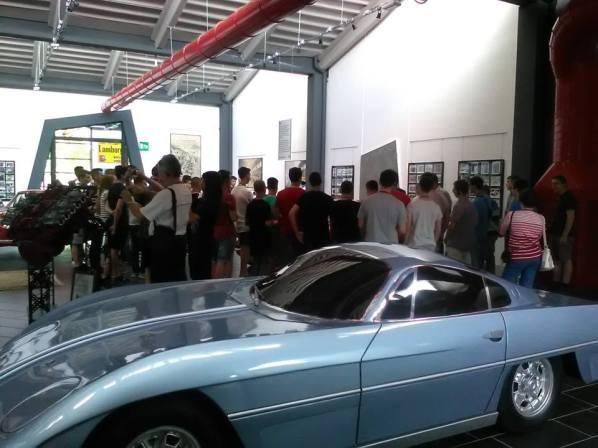 Primul prototip Lamborghini 350GTV