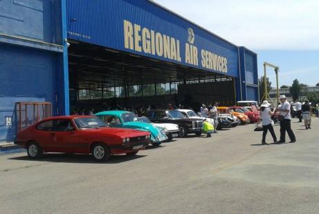 Expozitie auto clasice la Aeromania 2016