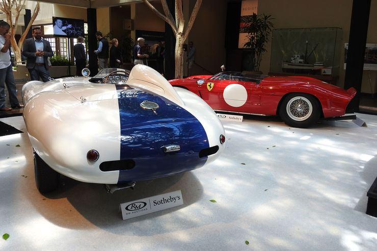 Ferrari 750 Monza Spider by Scaglietti - 1955