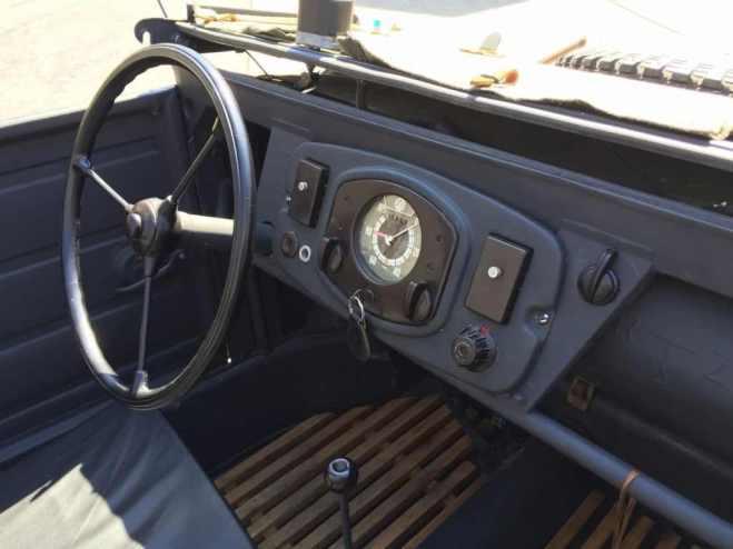 Cockpit Kubelwagen Type 82