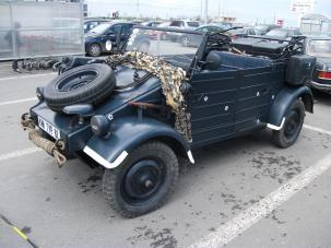 Kubelwagen la Retroparada primaverii in Constanta - 2014