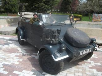 Kubelwagen la Retroparada toamnei in Constanta - 2014 (2)