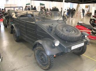 Kubelwagen Type 82 expus la vanzare la Salonul Automotoretro din Torino - 2016