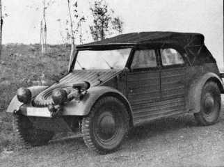 Prototip Kubelwagen Type 82 - 1939