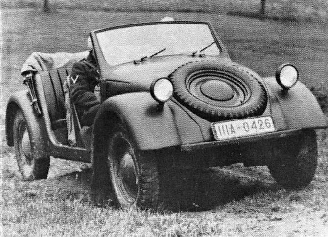 Prototip Type 62 in timpul testelor din 1938