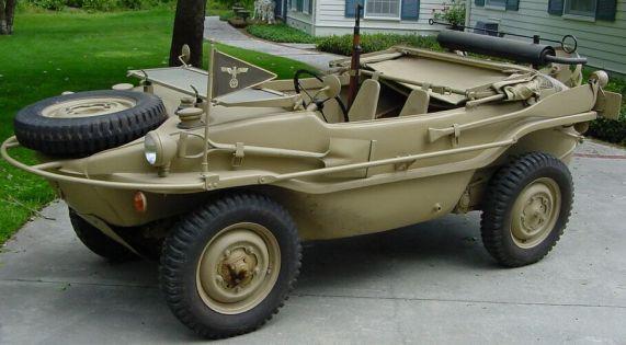 Varianta amfibie Type 166 Schwimmwagen (2)