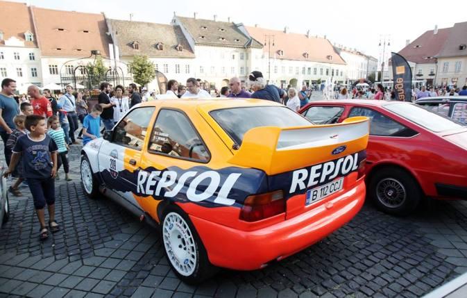 Costel Cășuneanu & Carmen Poenaru -Ford Escort WRC