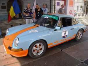 Mirela Bucovicean & Alexandra Gologan - Porsche 911 la start