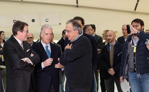 Gian Carlo Muzzarelli Piero Ferrari Sergio Marchionne