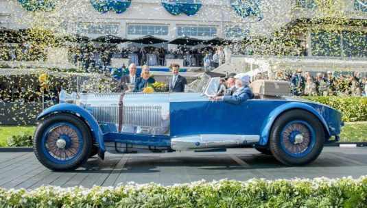 Best of Show - Mercedes-Benz S Barker Tourer 1929