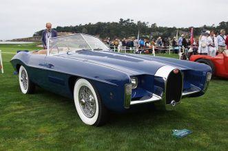 Bugatti Type 101C Virgil Exner Ghia Roadster 1965