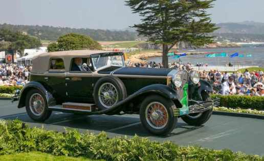 Isotta Fraschini Tipo 8A SS Castagna Cabriolet 1929