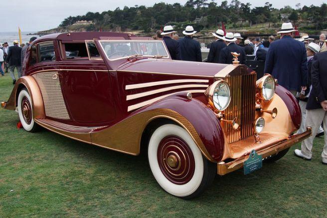 Rolls-Royce Phantom III Freestone & Webb Sedanca de Ville 1937