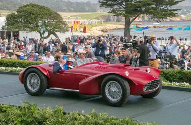 Siata 208CS Corsa Bertone spider 1952