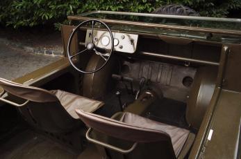 Cockpit Porsche 597 Jagdwagen