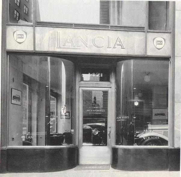 Dealer Lancia in SUA - New York