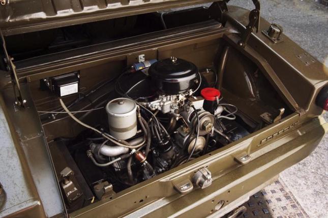 Motor Porsche 597 Jagdwagen