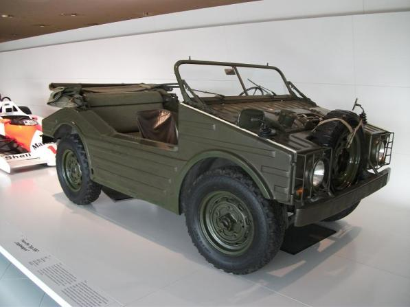 Porsche 597 Jagdwagen la muzeul Porsche