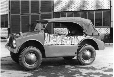 Prototip Porsche 597 Jagdwagen - 1955