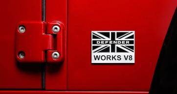 Ediție limitată - Land Rover Defender V8