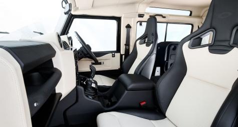 Interior Land Rover Defender V8