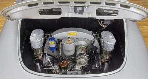 Motor Porsche 356 Michelotti