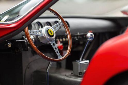 Cockpit Ferrari 250 GTO 1962