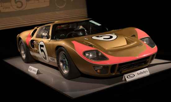 Locul 4 Ford GT40 Mk II Coupe 1966