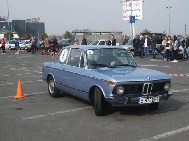 BMW 1602 la prima proba