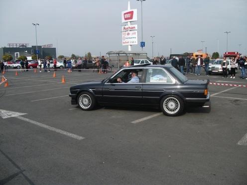 BMW Alpina C1 la finalul primei probe