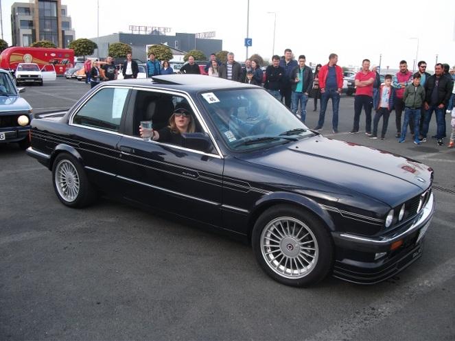 BMW Alpina C1 la startul probei a doua