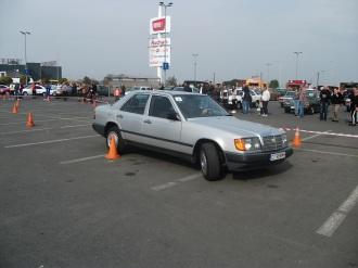 Mercedes 230E W124 la prima proba