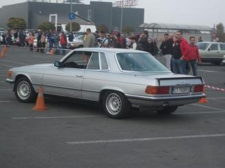 Mercedes 280 SLC la prima proba