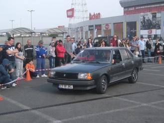 Renault 18 Turbo la finalul probei a doua