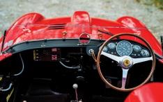 Cockpit Ferrari 290MM
