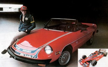 Niki Lauda cu Alfa Romeo Spider Niki Lauda Limited Edition in 1978