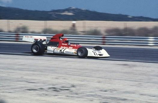 Cu BRM in Grand Prixul Frantei 1973