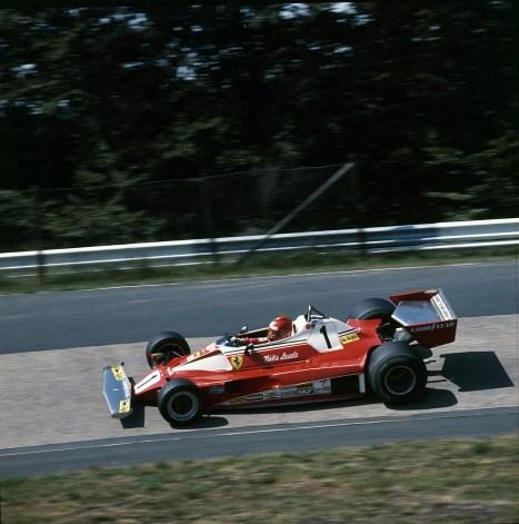 Cu Ferrari in Grand Prixul Germaniei 1976