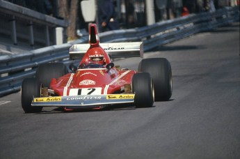 Cu Ferrari in Grand Prixul Monaco 1974