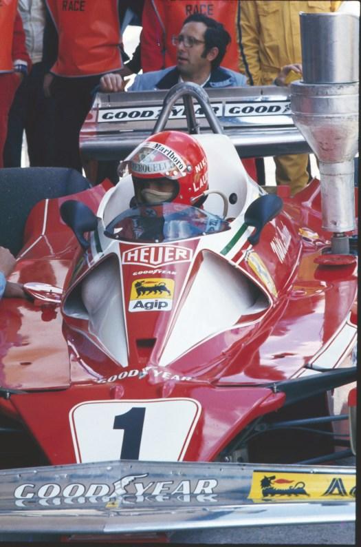 Cu Ferrari la boxe in 1976