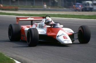 Cu McLaren in Grand Prixul Italiei 1982