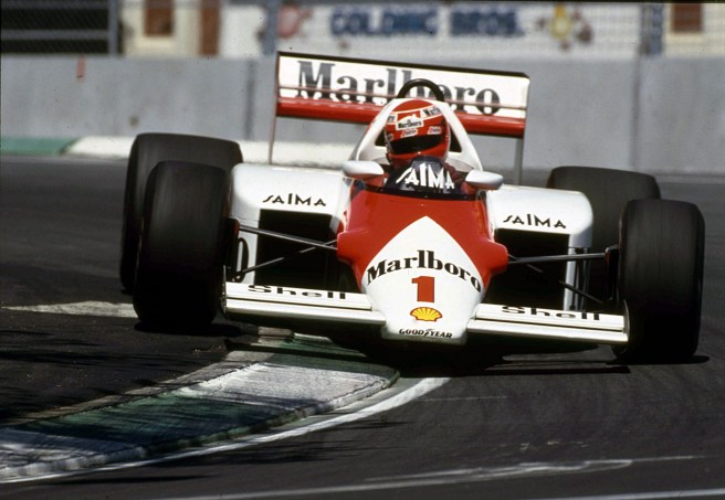 Cu McLaren in Grand Prixul Monaco 1985