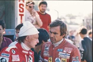 Niki Lauda & Carlos Reutemann in 1976