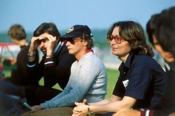 Niki Lauda spectator F1 in 1977