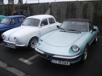 Alfa Romeo Spider 2.0 & Renault Dauphine