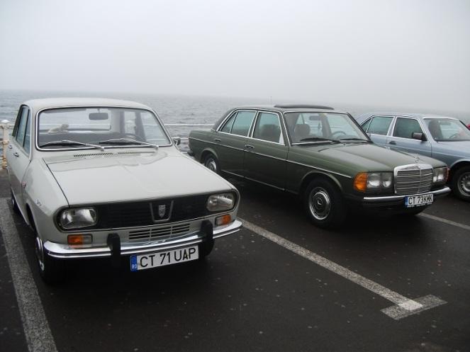 Dacia 1300 & Mercedes 200 W123
